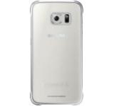 Protectie spate Samsung EF-QG920B pentru Galaxy S6 G920 (Transparent/Argintiu)