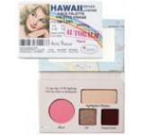Paleta de culori TheBalm Autobalm Hawaii Face Palette, 4.15g