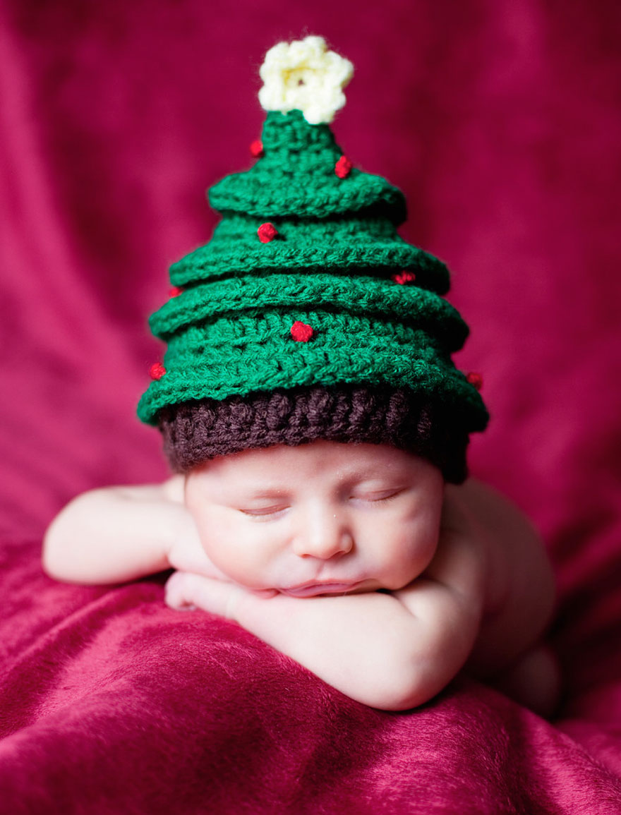 15+ Bebelusi adorabili in asteptarea Craciunului - Poza 14