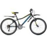 Bicicleta Leader Fox Capitan Boy 2016, Cadru 13inch, Roti 24inch (Negru)