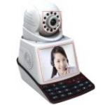 Telefon VoIP e-Sol SH-007 Safehome, 1.3 MP, Convorbiri telefonice gratuite, Buton wireless de armare/dezarmare/panica