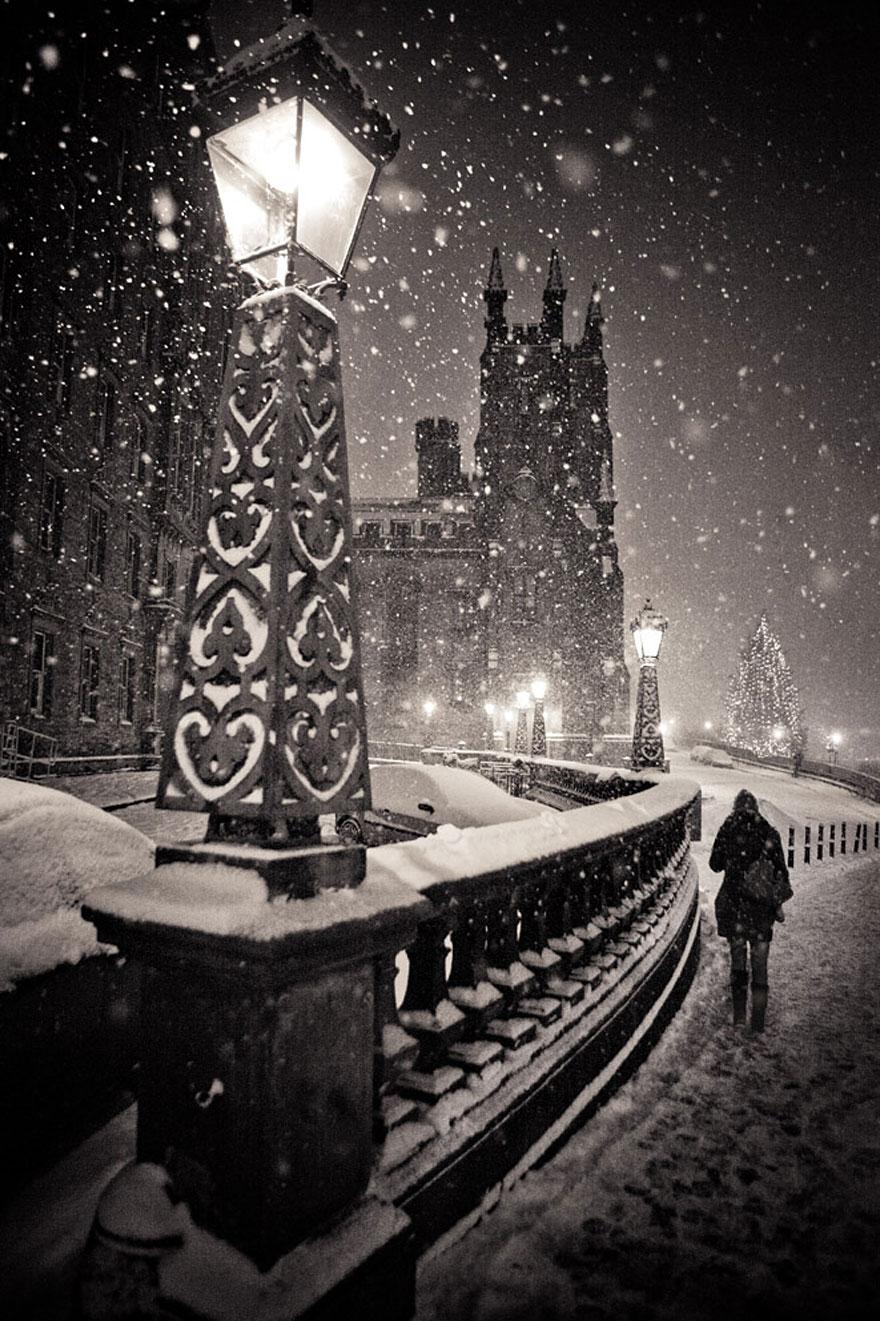 Cele mai frumoase peisaje de iarna - Poza 9