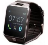Smartwatch iUni U18, LCD Capacitive touchscreen 1.5inch, Bluetooth, Bratara silicon (Negru)