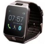 Smartwatch iUni U18, LCD Capacitive touchscreen 1.5inch, Bluetooth, Bratara silicon (Negru)