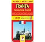 Harta Frantei - turistica si rutiera
