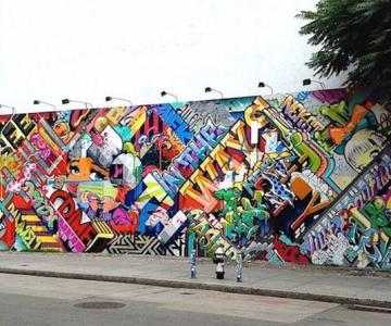 Graffiti inspirat de intreaga lume, de Pose + Revok