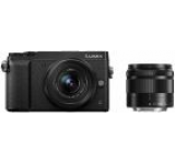 Aparat Foto Mirrorless Panasonic DMC-GX80W, cu Obiectiv 12-32mm + 35-100mm, Filmare Ultra HD 4K, 16 MP, Wi-Fi (Negru)
