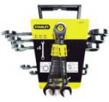 Trusa 6 chei combinate Stanley 10-19mm