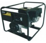 Generator Curent Electric Kipor KGE 4000C, 3.3 kVA, Motor 1 cilindru, 4 timpi, racire cu aer, cadru deschis, Benzina, Autonomie 5 ore