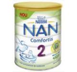 Lapte praf Nestle Nan 2 Comfortis, 800g, 6 luni+