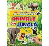Carte de activitati - animale din jungla