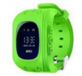 Smartwatch iUni Kid60 70991-2, 0.96inch, GPS, Bratara silicon, dedicat pentru copii (Verde)