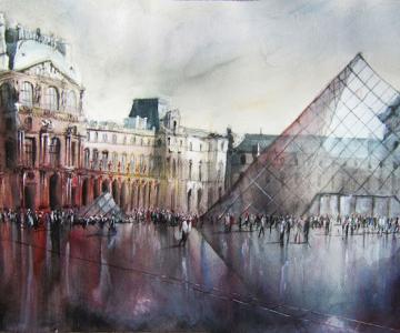 Arhitectura Frantei in picturi de Nicolas Jolly