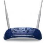 Router Wireless TP-LINK TD-W8960N cu modem ADSL2+, 300 Mbps, 2 Antene detasabile 5dBi
