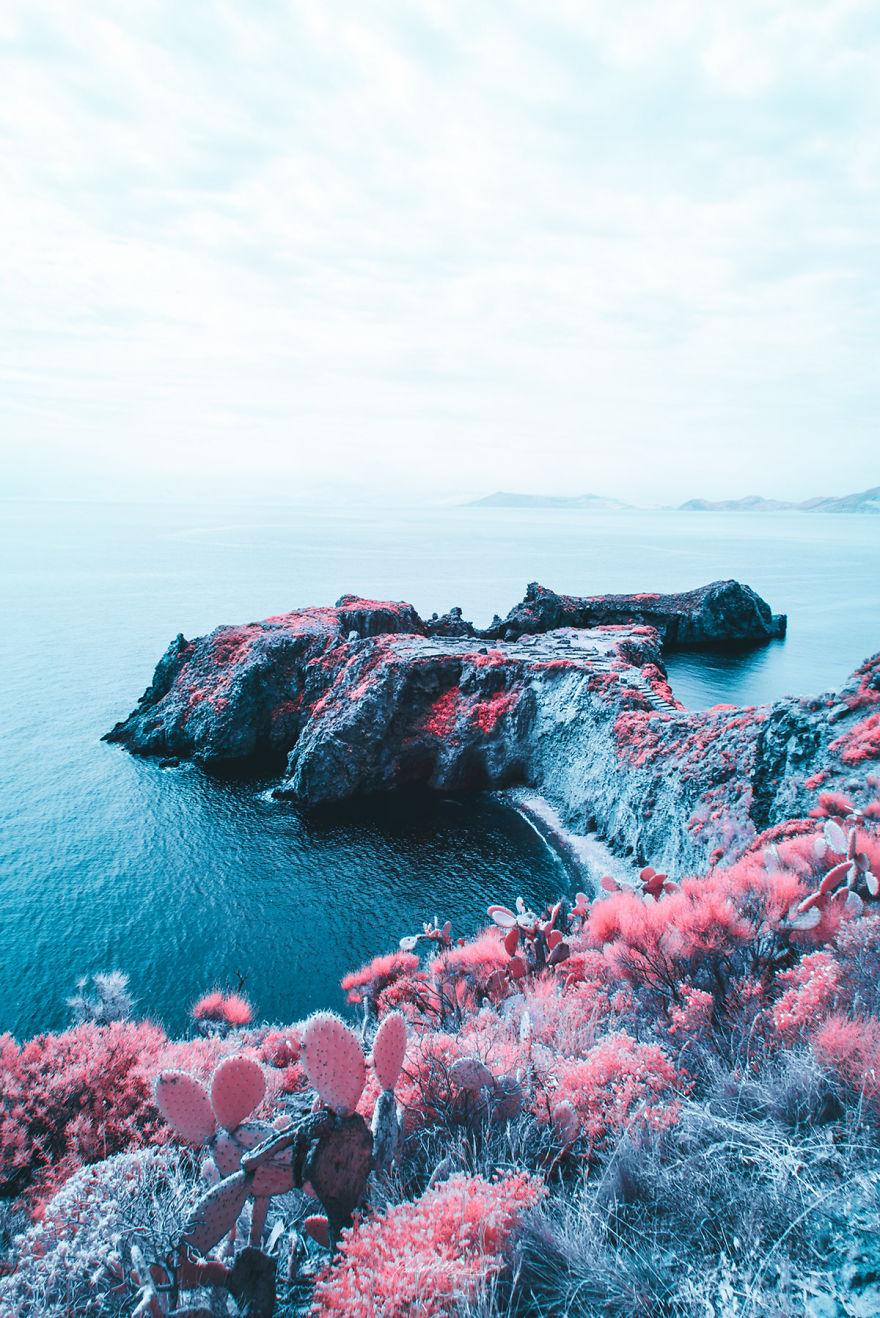 Lumea in infrarosu, intr-un set de fotografii superbe - Poza 10