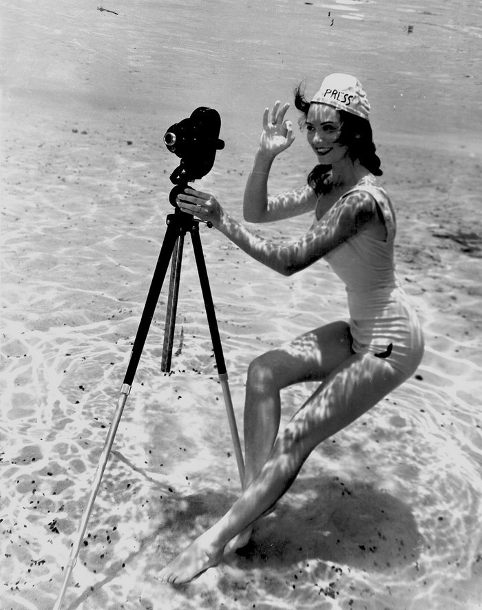 Fotografii subacvatice de exceptie, din 1938 - Poza 1