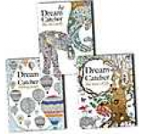 Dream Catcher Finding Peace Life On Earth Tree of Life Anti-Stress Adult Colouring 3 Books Collection