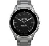 Smartwatch Vector Luna Uni L1-10-007, Bluetooth, Bratara metalica, Rezistent la apa si praf (Argintiu)