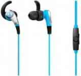 Casti Audio-Technica ATH-CKX5iSBL, jack 3.5mm, Microfon (Albastru)