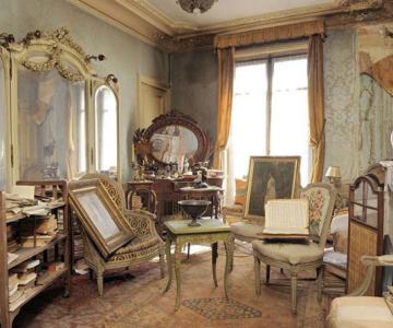 Lux la Paris - Apartamentul abandonat timp de 70 de ani