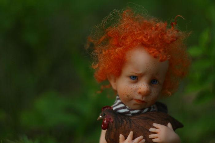 Papusi realiste superbe, de Elena Kirilenko - Poza 14