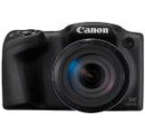 Aparat Foto Digital Canon PowerShot SX430 IS, 20 MP, Filmare HD, Zoom optic 45x, WiFi, NFC (Negru)
