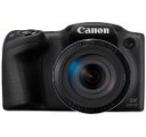 Aparat Foto Digital Canon PowerShot SX430 IS, 20 MP, Filmare HD, Zoom optic 45x, WiFi, NFC (Negru)