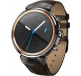 Smartwatch Asus ZenWatch 3 WI503Q, Procesor Quad-Core, AMOLED capacitive touchscreen 1.39inch, 512MB RAM, 4GB Flash, Bluetooth, Curea Piele, Rezistent la apa si praf (Maro)