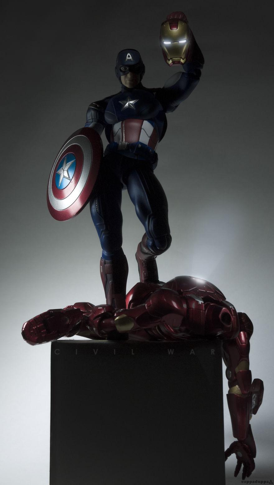 Istoria artei cu supereroi Marvel - Poza 5