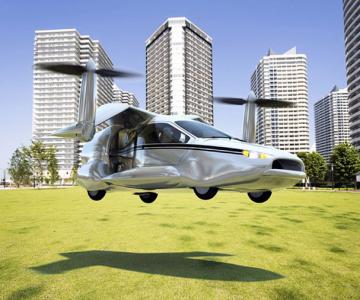 Masina viitorului stie sa zboare
