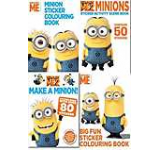 Despicable Me Minions Childrens Sticker & Activity 4 Book Collection Set
