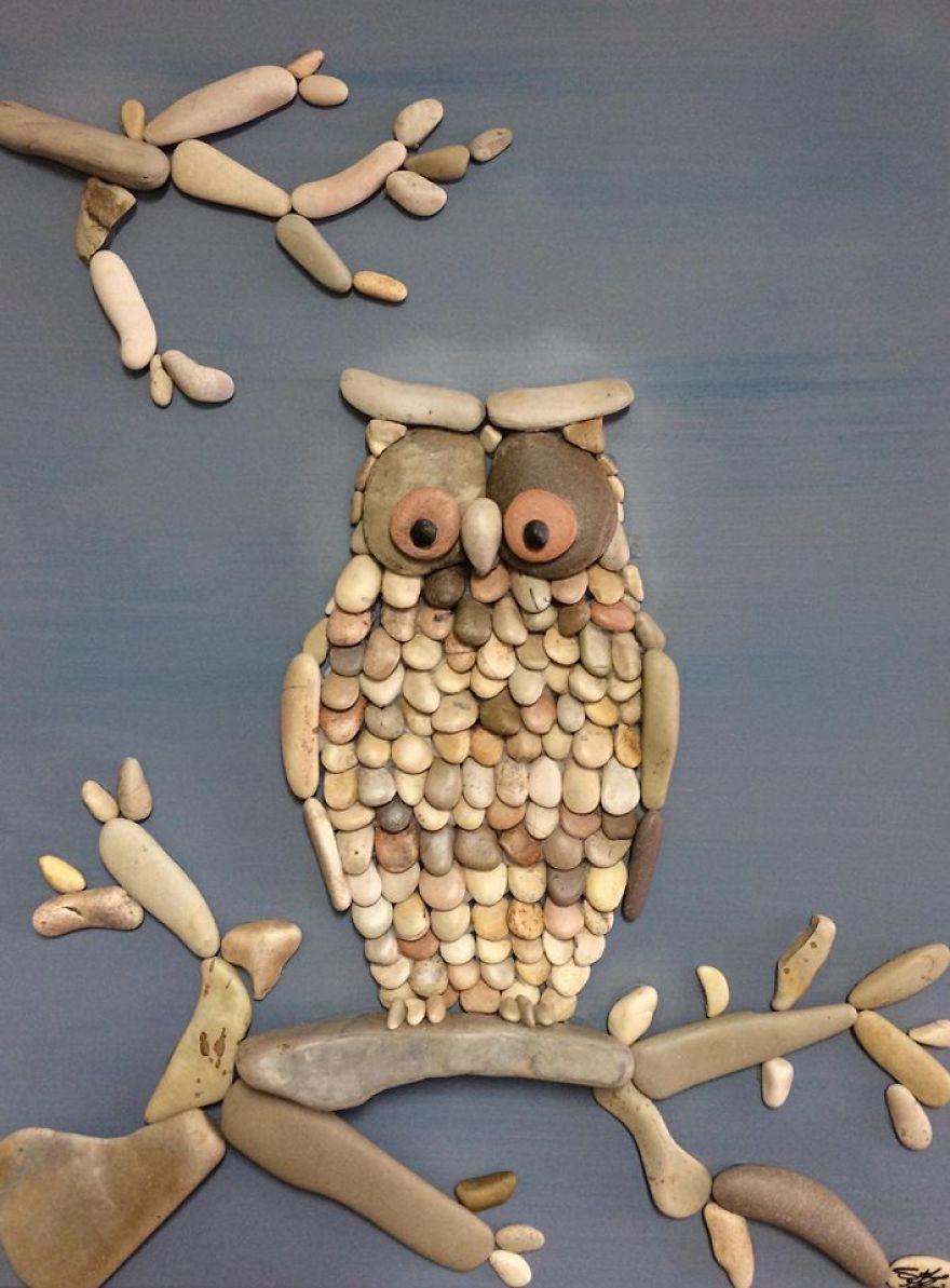 Creatii artistice cu pietre - Poza 10