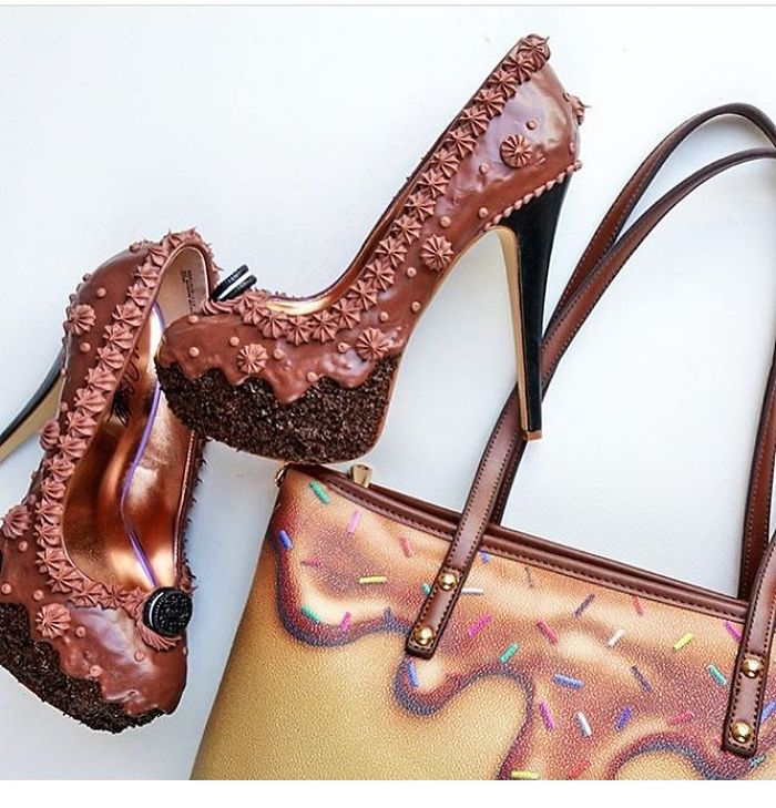 Pantofii cu aspect de prajituri, la mare moda in acest sezon - Poza 14