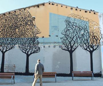 Padure de copaci vorbitori la Barcelona