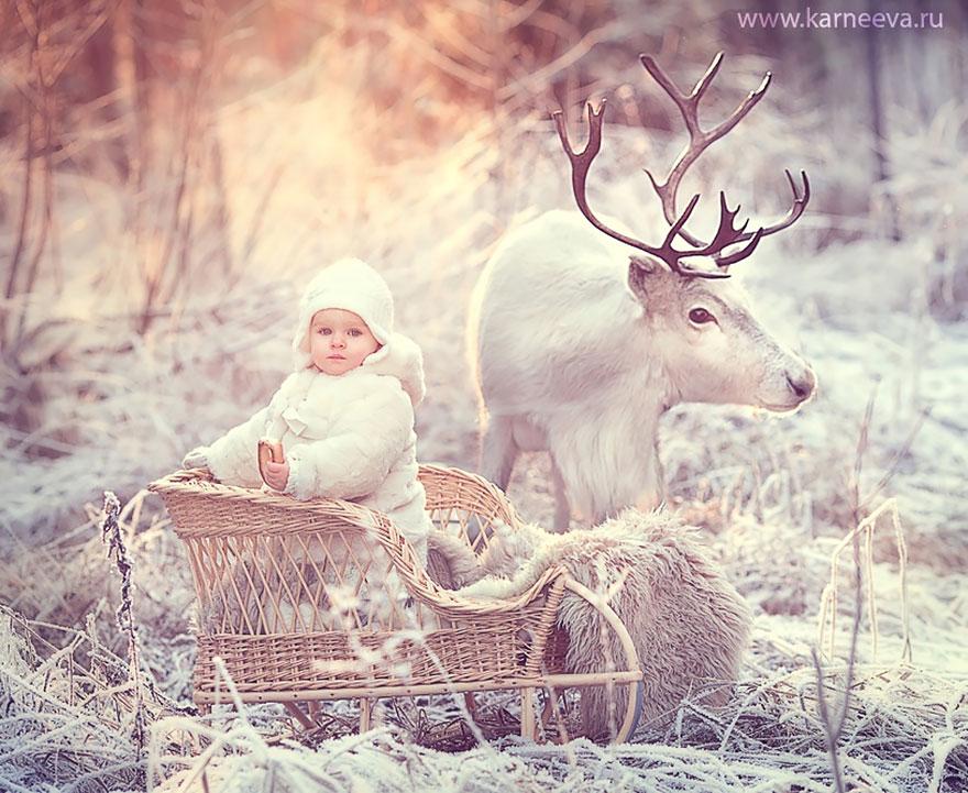 Melancolia iernilor din copilarie, in poze superbe - Poza 7
