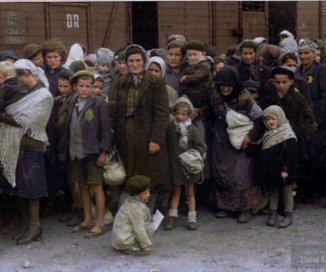 Istorie in culori: Momente cenusii din trecut, readuse la viata