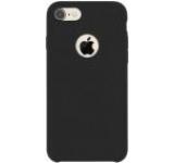 Protectie spate Just Must JMLQSIPH7BK Liquid Silicone pentru Apple iPhone 7/7S (Negru)