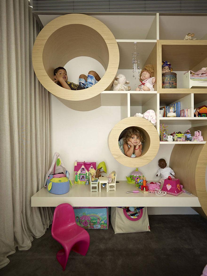 Cum sa aduci basmul in camera copilului. 15+ Idei geniale de amenajare - Poza 20