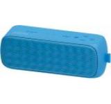 Boxa Portabila Mediacom SmartSound Dust M-ZBTSWPBL, Stereo, Bluetooth, NFC, Microfon, slot microSD, power bank 1300 mAh, Rezistenta la apa si praf (Albastru)