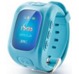 Smartwatch iUni U6, LCD Capacitive touchscreen 1.5inch, 2G, GPS, Bratara silicon, dedicat pentru copii (Albastru)