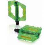 Pedale Platforma XLC PD-M16, transparente (Verde)