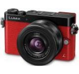Aparat Foto Mirrorless Panasonic Lumix DMC-GM5K, 12-32mm, 16 MP, Filmare Full HD (Rosu)