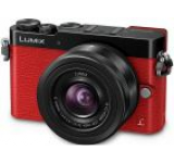 Aparat Foto Mirrorless Panasonic Lumix DMC-GM5K, 12-32mm, 16 MP, Filmare Full HD (Rosu)