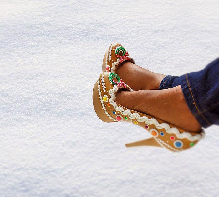 Pantofii cu aspect de prajituri, la mare moda in acest sezon - Poza 9