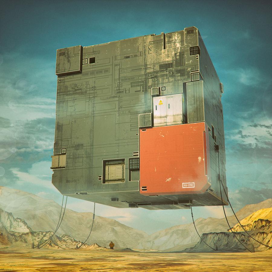 Ilustratii digitale suprarealiste, de Beeple - Poza 4