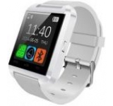 Smartwatch iUni U8+, Capacitive touchscreen, Bluetooth, Bratara silicon (Alb)