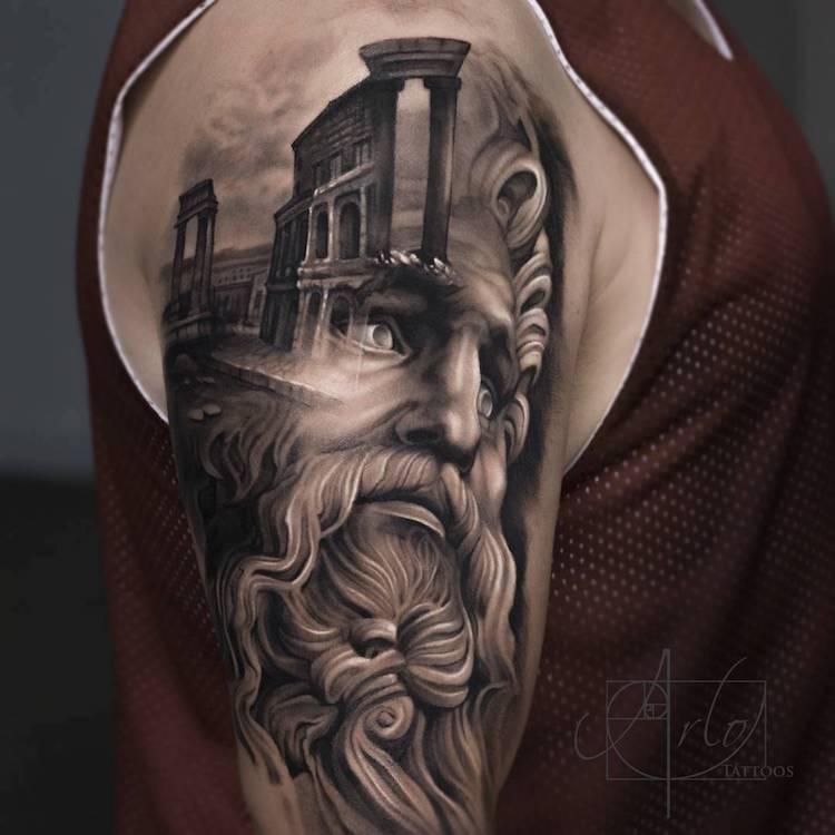 Tatuaje impresionante suprarealiste, de Alro DiCristina - Poza 2