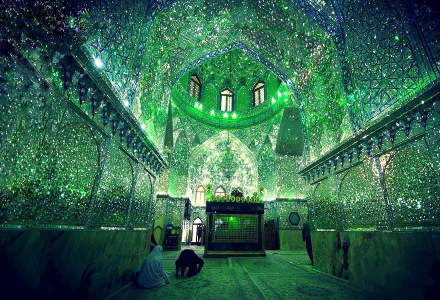 Shah Cheragh: Frumusetea orbitoare a unei moschei - Poza 2