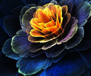 Flori luminoase, de Tatiana Kondratova