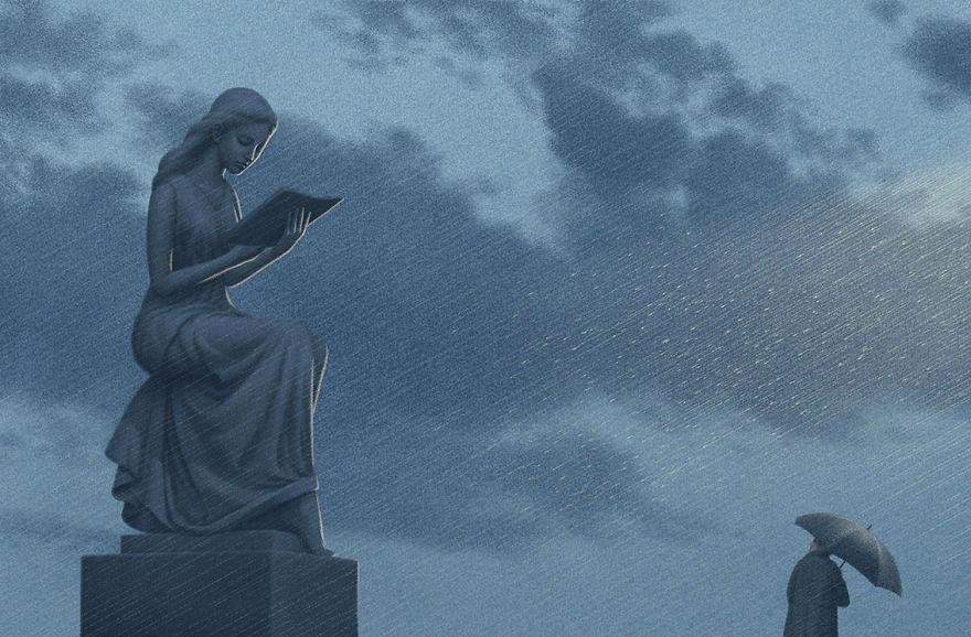 Capodopere literare, in ilustratii suprarealiste - Poza 11